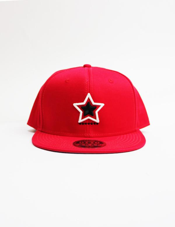 HiBowL Snap Back Cap 『 Impact』 レッド [hi-bcp-003]