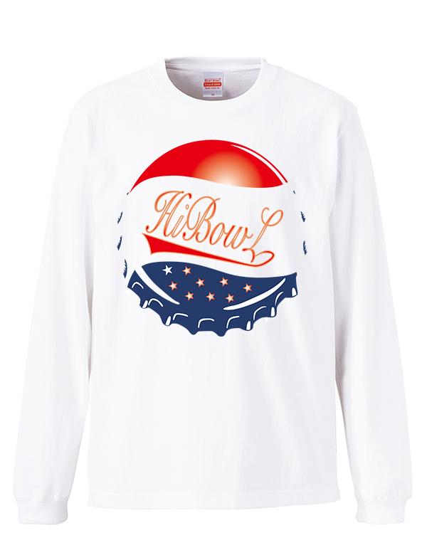 HiBowL LongTee 『Lid』 ホワイト [Hi-tee-12]