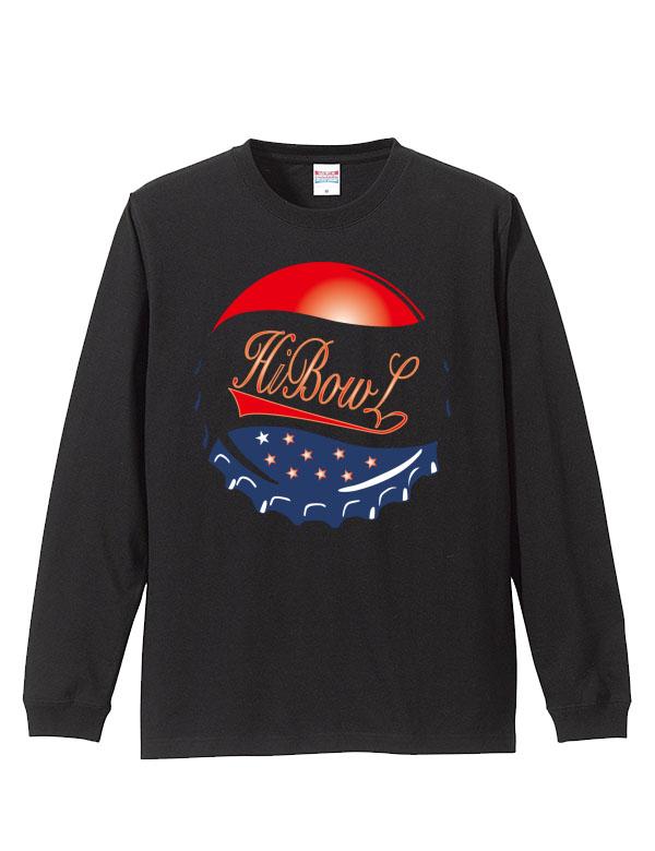 HiBowL LongTee 『Lid』 ブラック [Hi-tee-12]