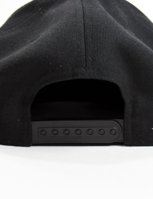 "HiBowL Snap Back Cap ""HB"" ブラック×オレンジ [hi-bcp-006]"