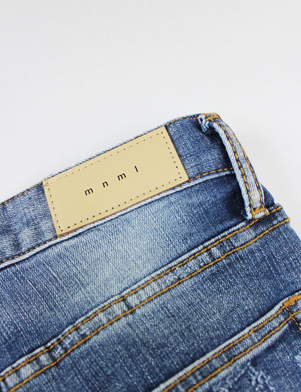 mnml(ミニマル) M1 STRETCH DENIM Blue [18ML-SP213D]