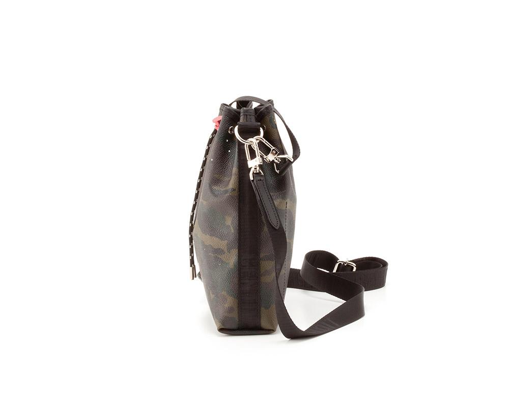GENTIL BANDIT (ジャンティバンティ)  2WAY巾着バッグ カーキカモ  [GB2001]