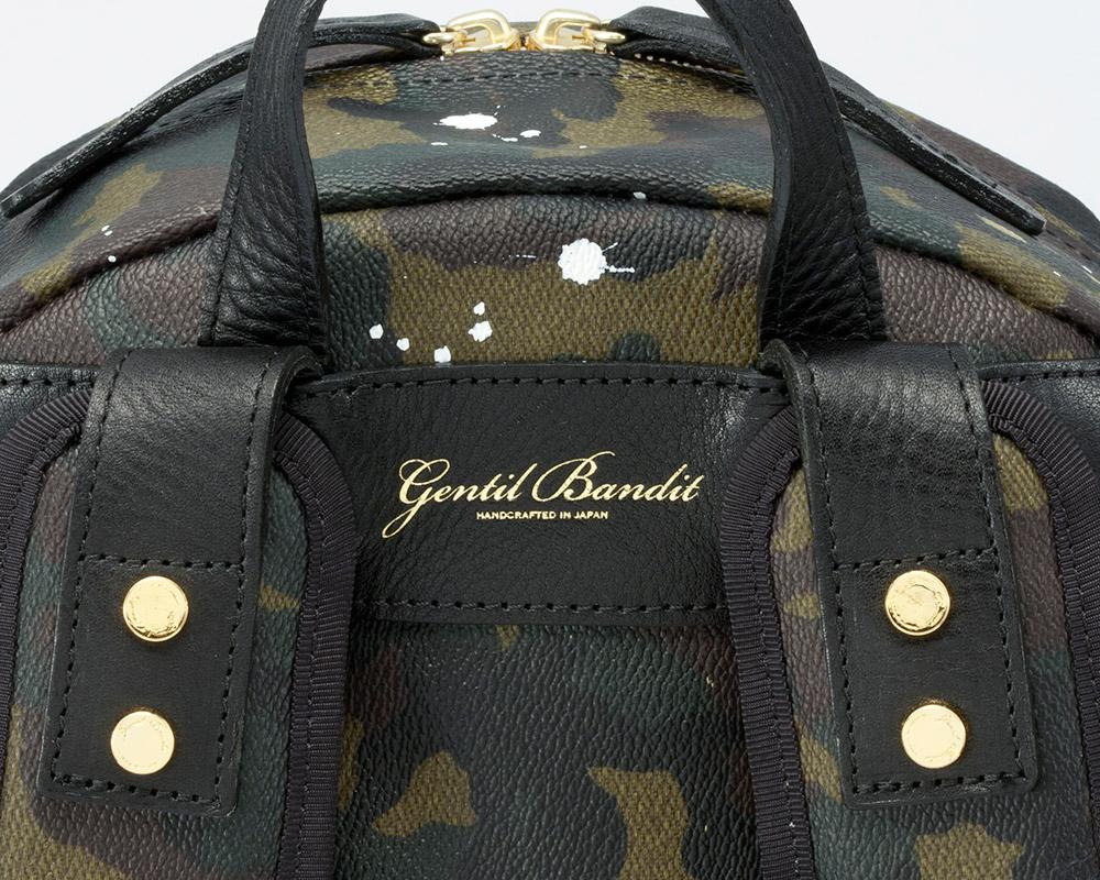 GENTIL BANDIT (ジャンティバンティ)  バックパック カーキカモ  [GB1994]