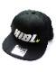 "HiBowL Snap Back Cap ""HiBL"" ブラック×ホワイト×イエロー [hi-bcp-007]"