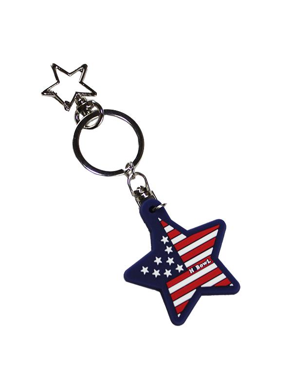 """★期間限定価格★HiBowL(ハイボール) KeyRing """"USA""""  [Hi-krg-001]"""