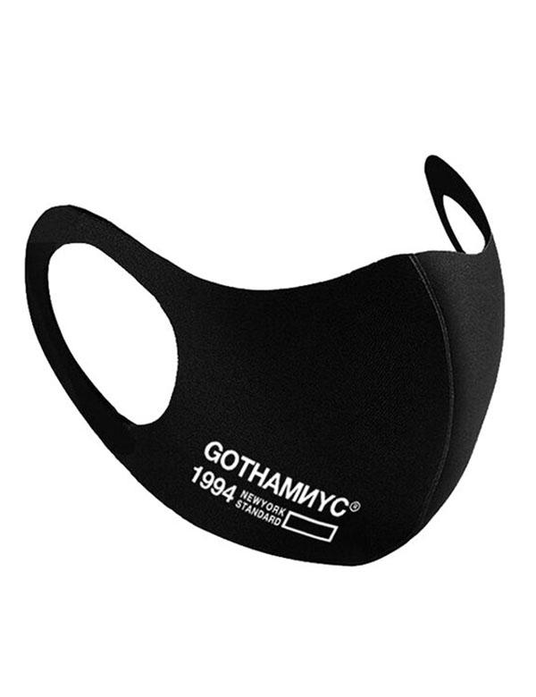GOTHAM NYC (ゴッサムエヌワイシー)ロゴマスク2枚入り ブラック [GN766]