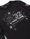 SY32 by SWEET YEARS MULTISTAR L/S TEE ブラック [11036J]