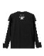 GOTHAM NYC (ゴッサムエヌワイシー)  Long sleeve Tシャツ ブラック×ホワイト  [GN701]