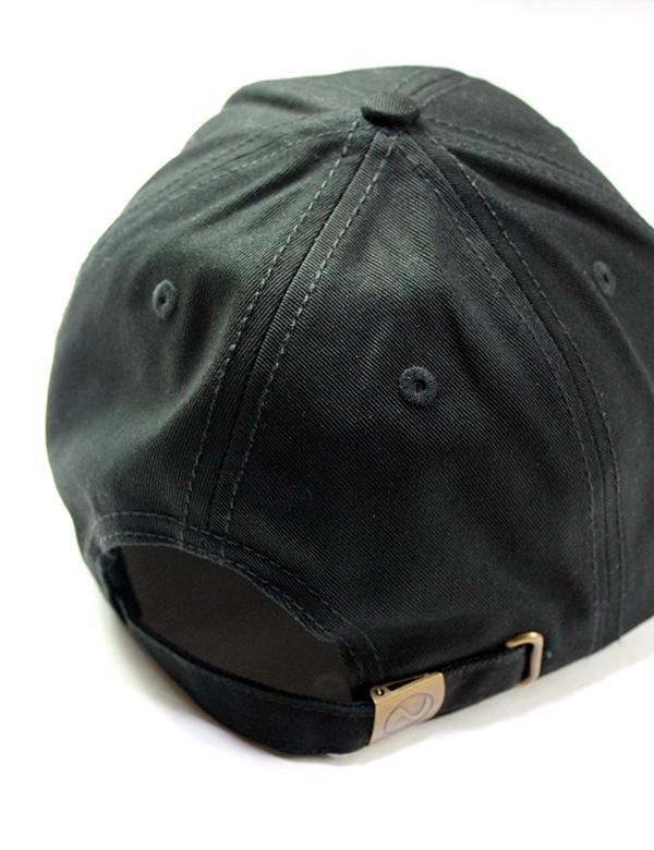 GOTHAM NYC (ゴッサムエヌワイシー)  CAP ブラック×ホワイト  [GN671]
