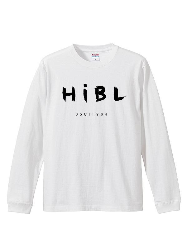 "HiBowL LongTee ""handwrite"" ホワイト [Hi-ltee-3]"