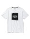 SY32 by SWEET YEARS SQUARE LOGO TEE ホワイト [10027J]