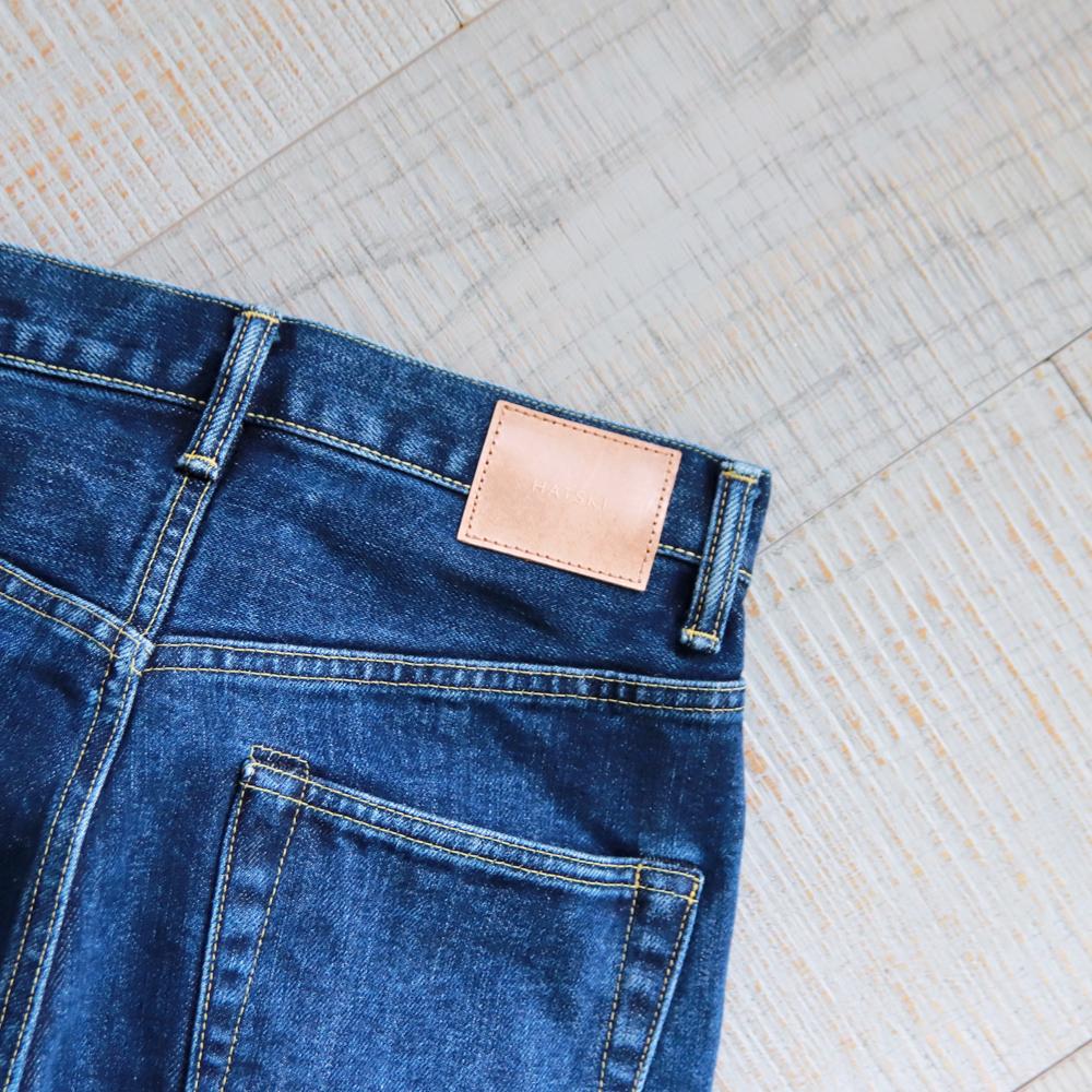 HATSKI Loose Tapered Denim -Used- Blue HTK-22001-U