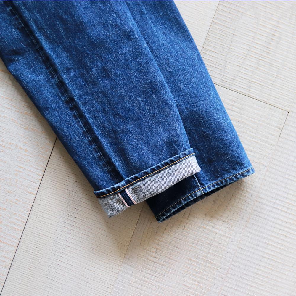 HATSKI Straight Denim -Used-Blue HTK-22004-U