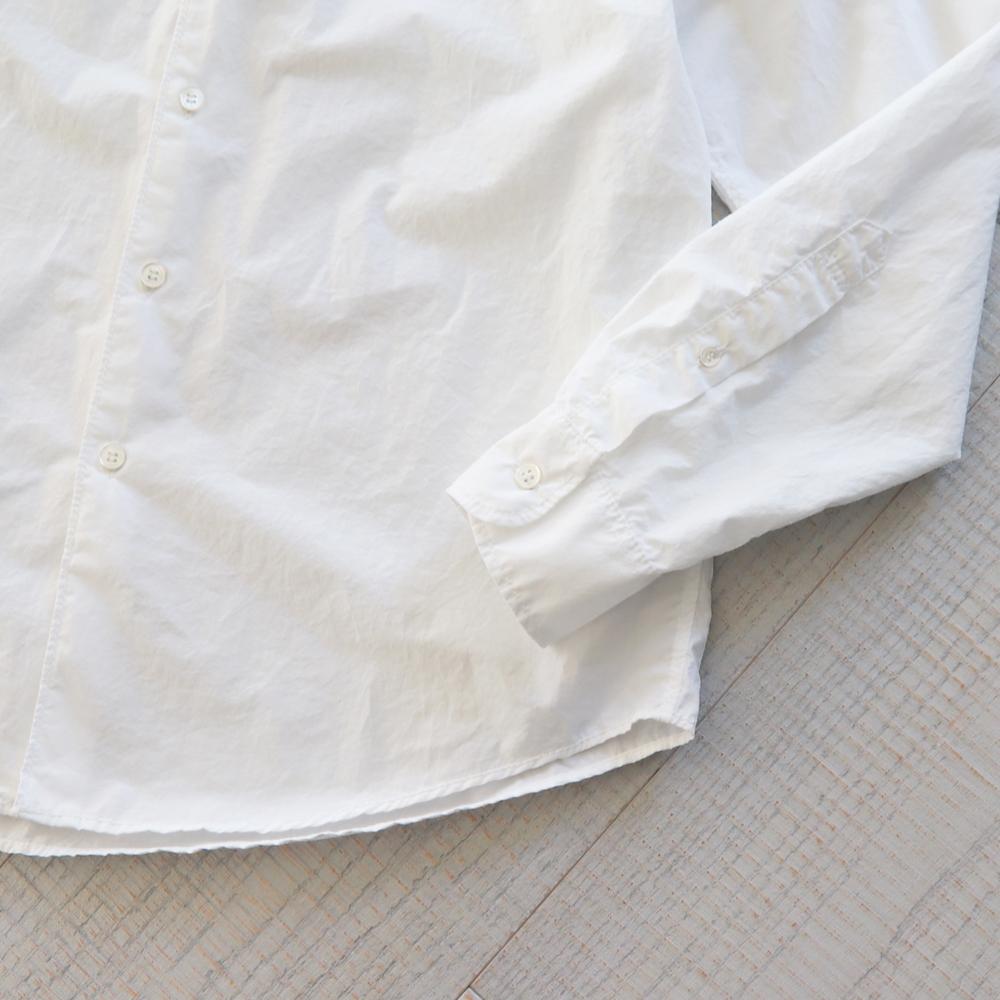HATSKI 8 Stitch Band Collar Shirt