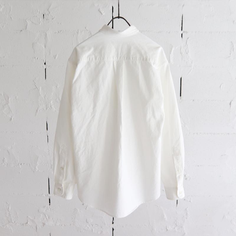 HATSKI High-Count B.D. Shirt WHITE