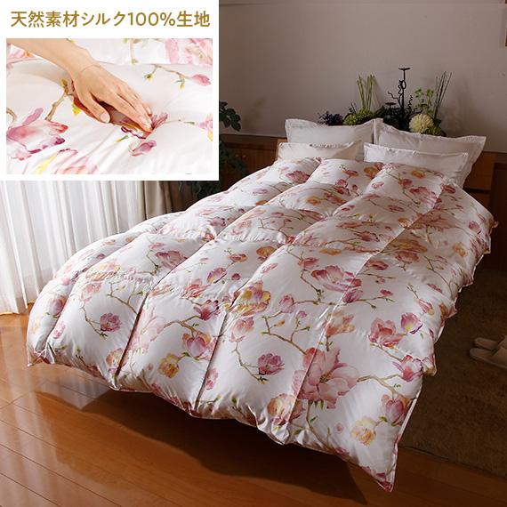 羽毛リフォーム シルフィ シングル(150cm×210cm)