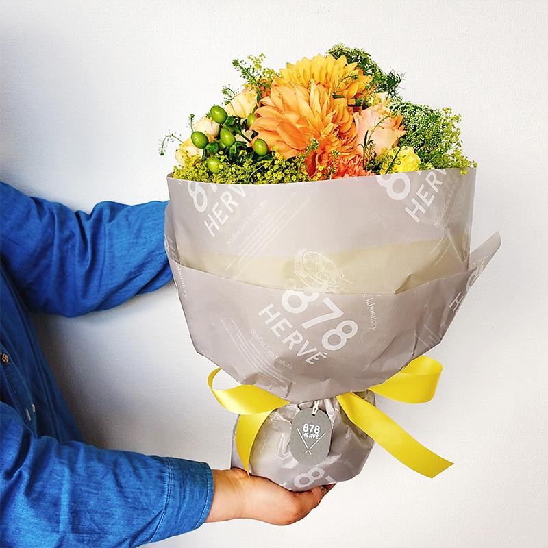 エルベブーケ イエロー&オレンジ(Lサイズ)