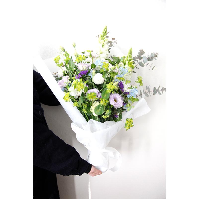 ワンサイドブーケ お悔み和花