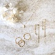 itam(アイタム)- 樹脂ノンホールピアス S041 | 合金(ニッケルフリーメッキ),樹脂,キュービックジルコニア