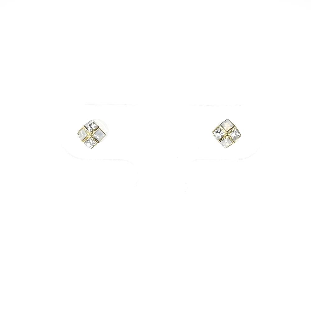 itam(アイタム)- セラミックポストピアス 109   セラミックポスト,合金(ニッケルフリーメッキ),スワロフスキー
