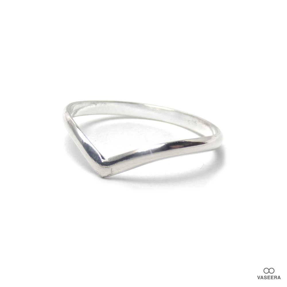 アーチポイント シルバー925 スタックリング/スタッカブルリング 【SILVER925/指輪】