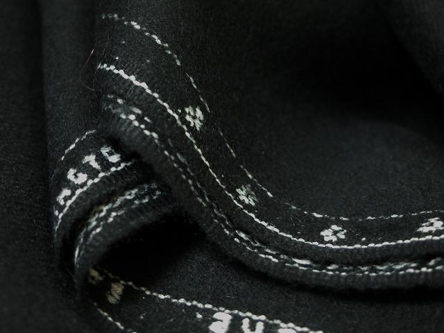 お買得 <strong>【GLENPORT/アルパカウール】</strong><br>スペイン製,輸入生地,<br>黒<br>150cm巾2.7m(スーツ分)<br>2111-795<br>【一点在庫あり ご注文はお早めに】