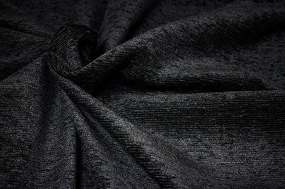 お買得 <strong>【モール/ベルベット生地】</strong><br>スイス製,輸入生地,<br> 黒<br> 140cm巾2.5m(スーツ分)<br> 2311-344<br> 【一点在庫あり ご注文はお早めに】