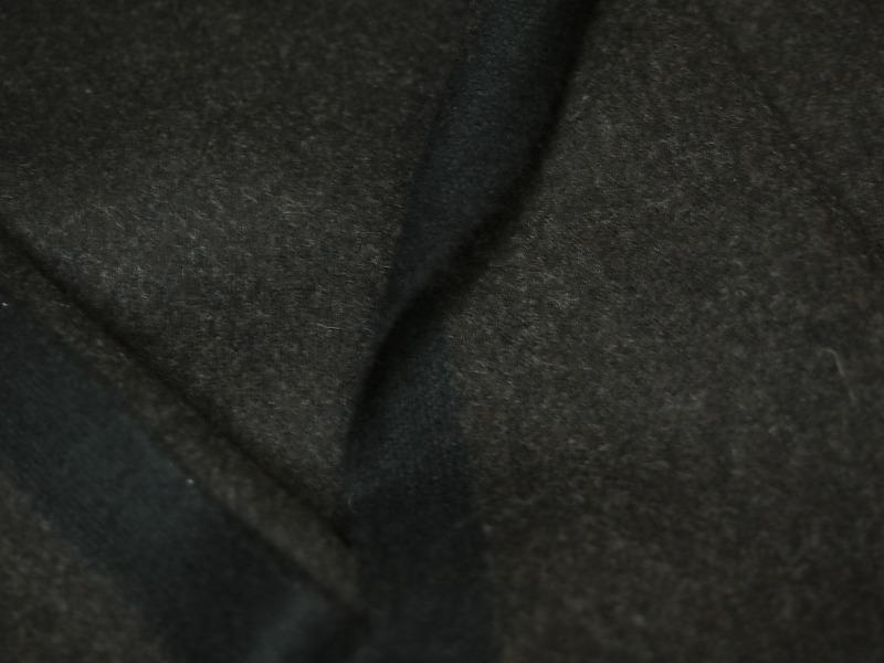 特選お買得品 <strong>【GIVENCHY/ジバンシー,カシミヤ,ウール,デニム調】</strong><br>フランス製,輸入生地,<br> 茶/黒 杢 <br>カシミヤ30% <br>ウール70% <br>140cm巾2.7m(スーツ分)<br>2111-727【一点在庫あり ご注文はお早めに】