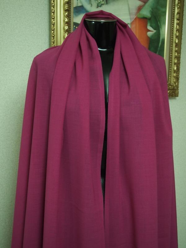 お買得 <strong>【AGNONA/アニオナ  サマーウールボイル】</strong><br>イタリ—製,輸入生地,<br> ピンク/紫,<br>ウール100%,<br>150cm巾2.5m<br>1111-750<br>