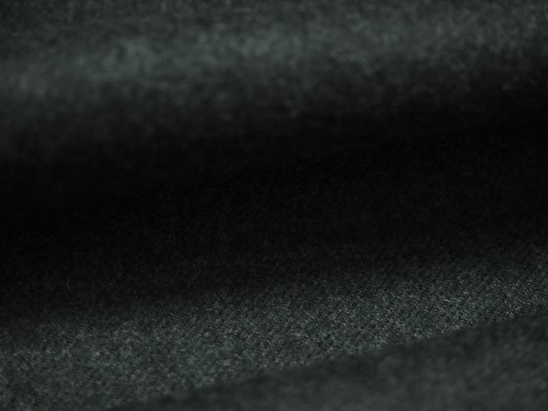 お買得 <strong>【日本毛織 カシミヤラムウール霜降り】</strong><br>日本製生地,<br>チャコールグレー杢<br>カシミヤ15% ラムウール85%<br>150cm巾3.0m(コート、パンツスーツ分)<br>2111-813