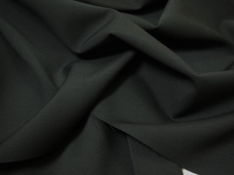 お買得 <strong>【DORMEUIL/ドーメル スーパーサマーウール】</strong><br>フランス製,輸入生地 <br>黒<br>ウール100%  <br>150cm巾2.5m<br>(スーツ、ワンピース分)<br>3111-814 <br>【ご注文はお早めに】