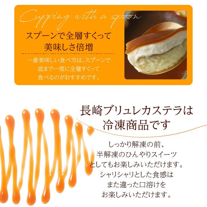 長崎ブリュレカステラ2個セット【送料・クール料無料】