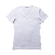 VネックTシャツ(ホワイト)