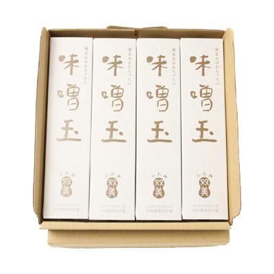 双美おばあちゃんの味噌玉 (4箱セット)
