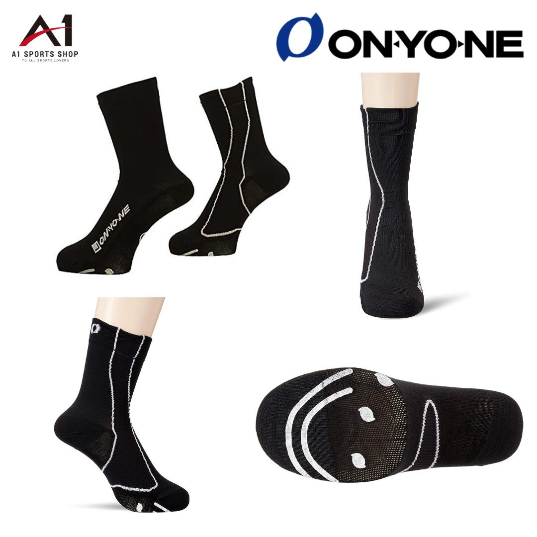 オンヨネ 腱力(あしぢから)ソックス サイクルショート 高機能スポーツ靴下 onyone OKA96256