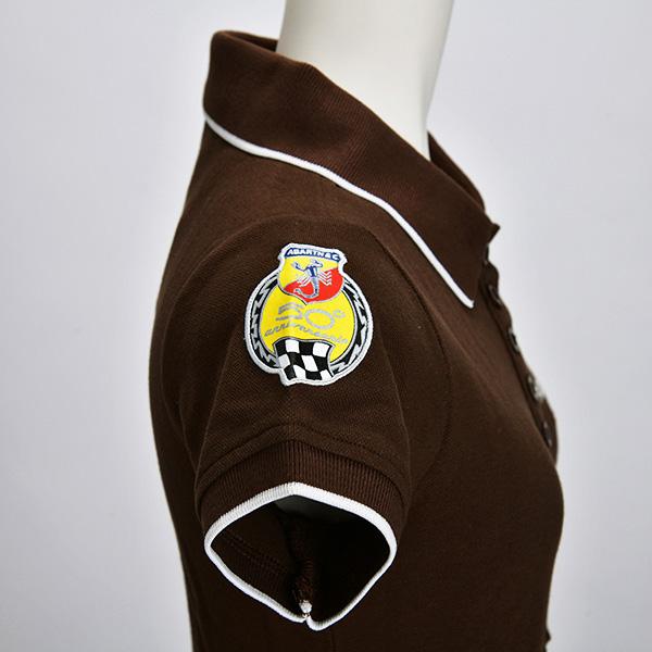 595 ポロシャツ(ブラウン)(レディース)(XSサイズ)
