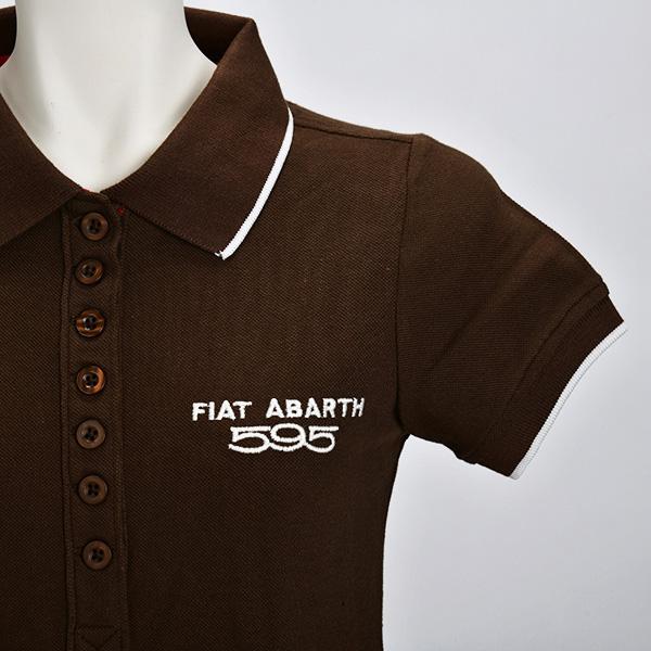 595 ポロシャツ(ブラウン)(レディース)(Sサイズ)