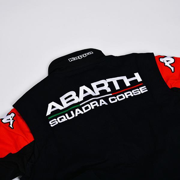 ABARTH × Kappa メカニック トラックスーツ(ブラック)(Lサイズ)