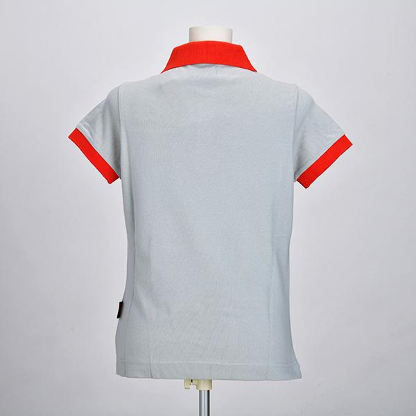 ABARTH × Kappa 2013 ポロシャツ(グレー)(レディース)(XSサイズ)