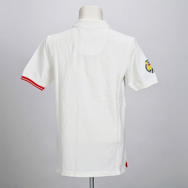 595 ポロシャツ(ホワイト)(Mサイズ)