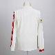595 長袖ポロシャツ(ホワイト)(Sサイズ)