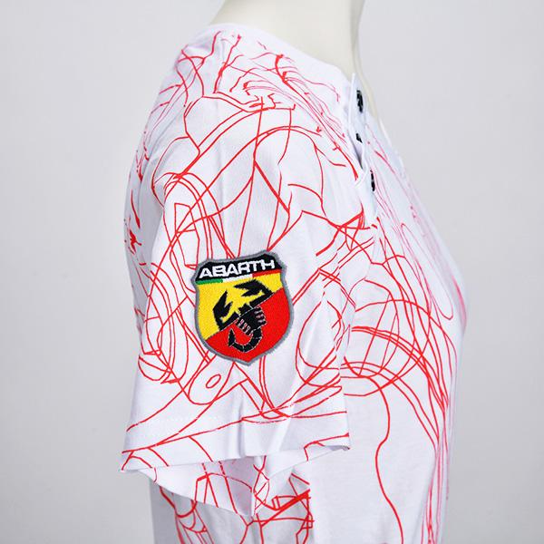 テクニカルパーツ Tシャツ(レディース)(ホワイト)(Lサイズ)