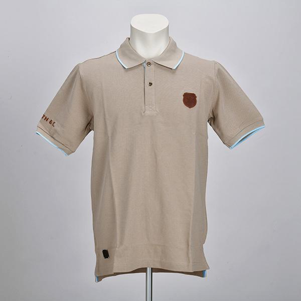 ポロシャツ(サンドベージュ)(Sサイズ)