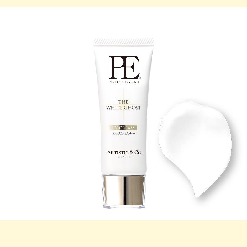 PE ザ ホワイトゴースト UVベースクリーム  -40g- (日焼け止めベースクリーム/SPF32/PA++)