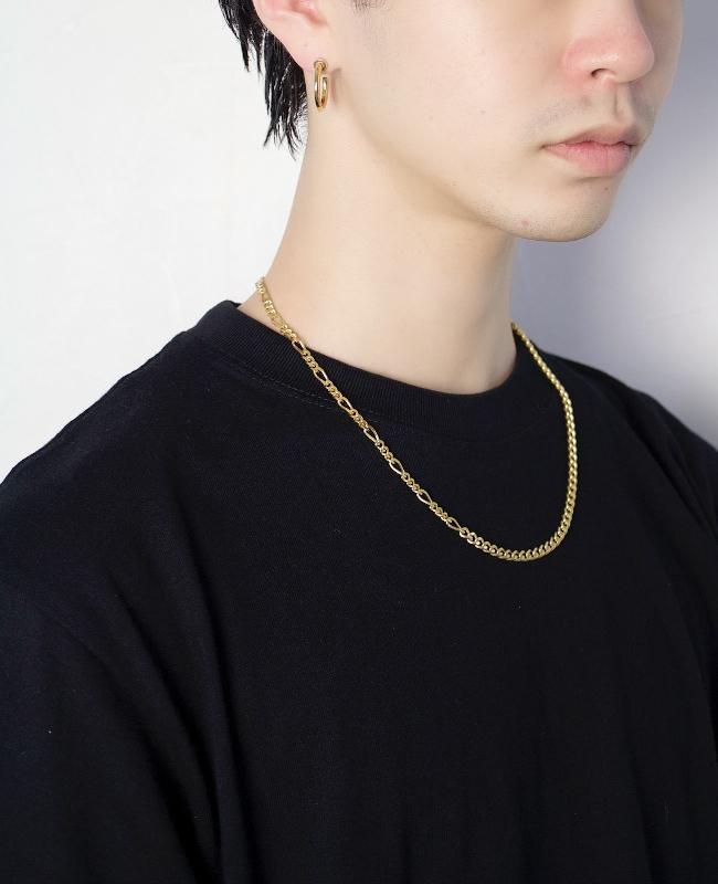 EPHEMERAL/エフェメラル <br>switching chain necklace (gold)