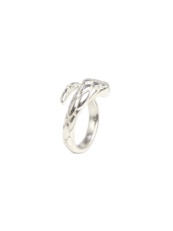 EPHEMERAL/エフェメラル <br>snake ring (with daiamond)