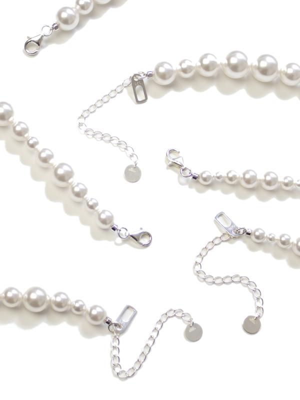 EPHEMERAL/エフェメラル<br>mix pearl necklace