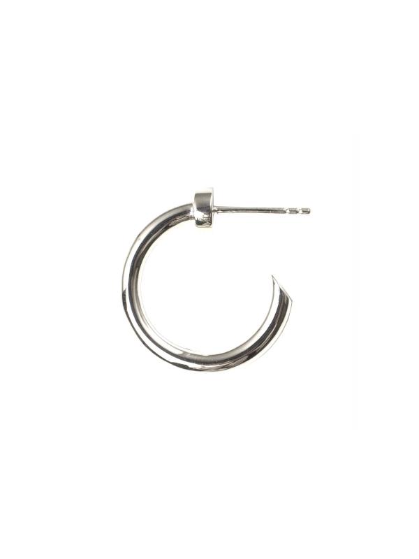EPHEMERAL/エフェメラル <br>stud hoop pierce (silver)