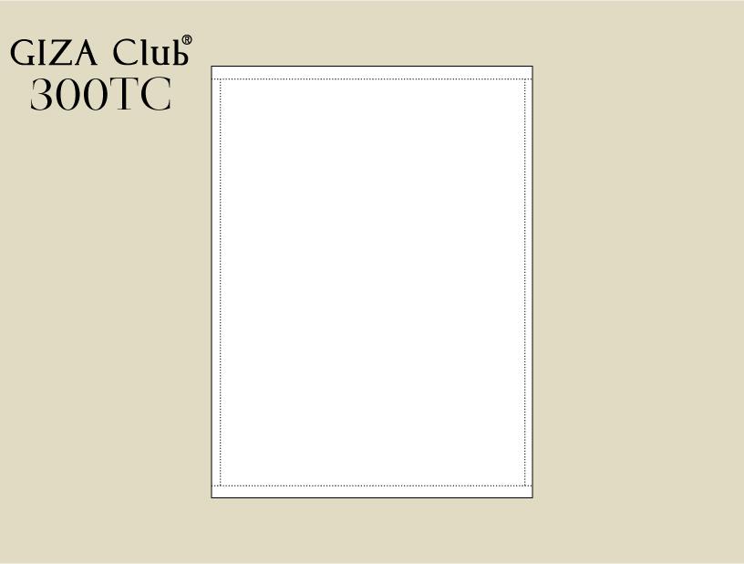エジプト超長綿 GIZA Club&#174; <BR>300TC  アッパー/フラットシーツ