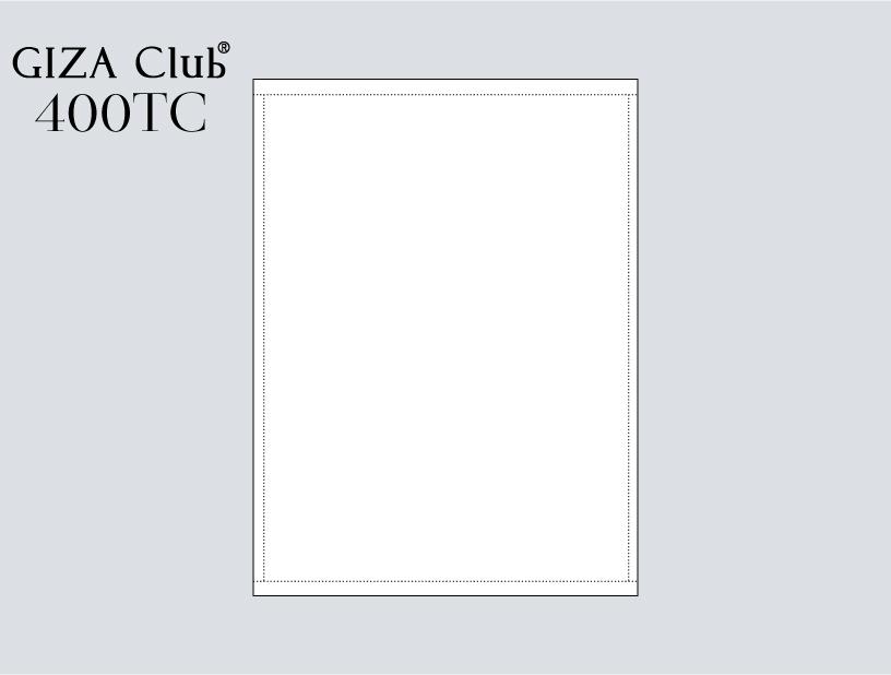 エジプト超長綿 GIZA Club 400TC フラットシーツ